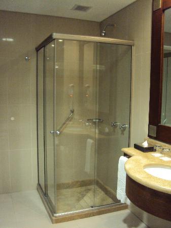 Alejandro I Hotel International Salta: 16-Salta-Hotel Alejandro I Internacional: Baño en habitación Superior