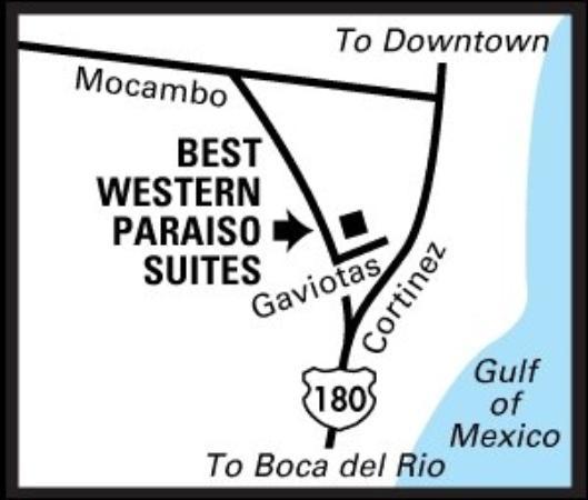 Hotel Paraiso Suites : Regional Map