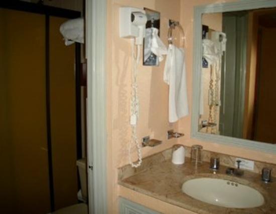 Hotel Paraiso Suites : Guest Bathroom
