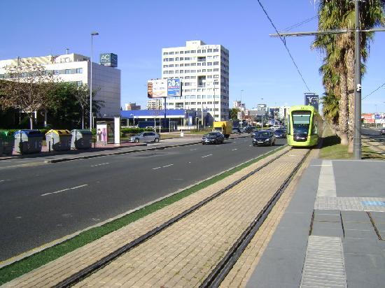 Tranvía de Murcia.