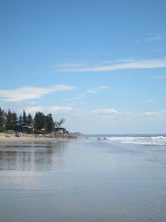 Manglaralto Sunset Hostel: Manglaralto Beach