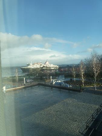 The Douglas Hotel: View from one of the windows