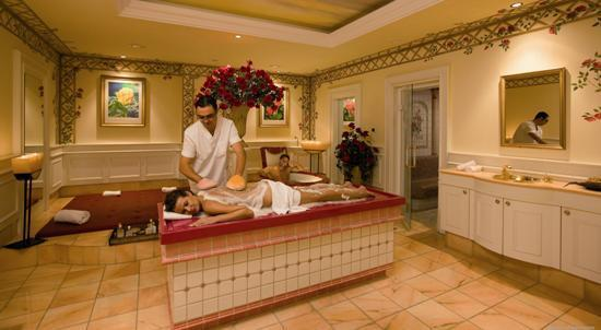 Cavallino Bianco Family Spa Grand Hotel: Theresias Beauty Spa