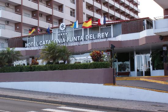 Las Caletillas, España: hotel front view