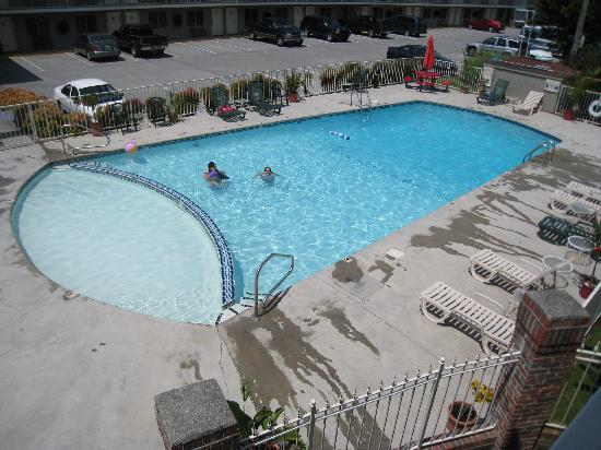 Maples Motor Inn: 8' deep pool with baby pool