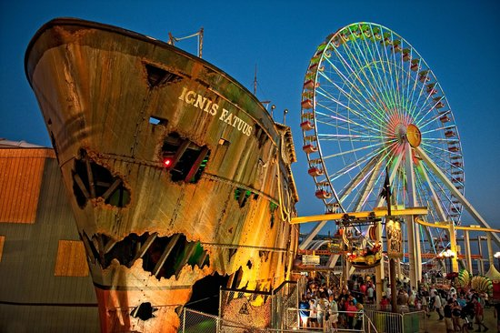Morey's Piers and Beachfront Water Parks: Ghost Ship