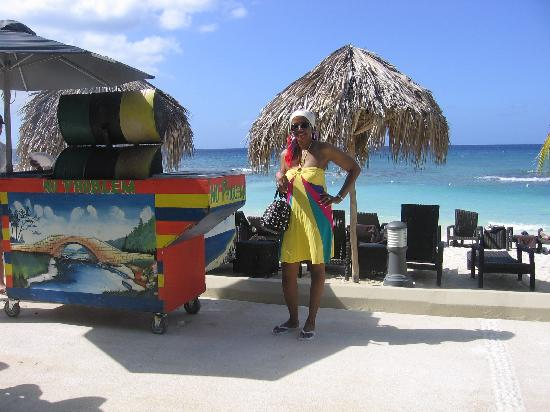 Secrets Wild Orchid Montego Bay: and the jerk pork... deliscious,,,