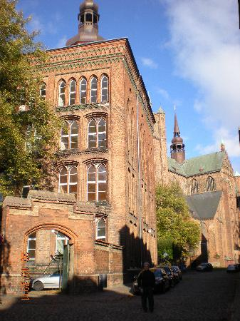 Hansedom Stralsund : St. Mary Church (Marienkirche)
