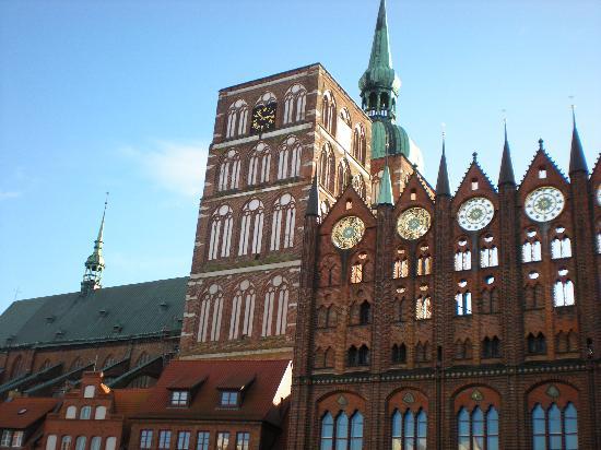 Hansedom Stralsund : St. Nikolai Church (Nikalaikirche)
