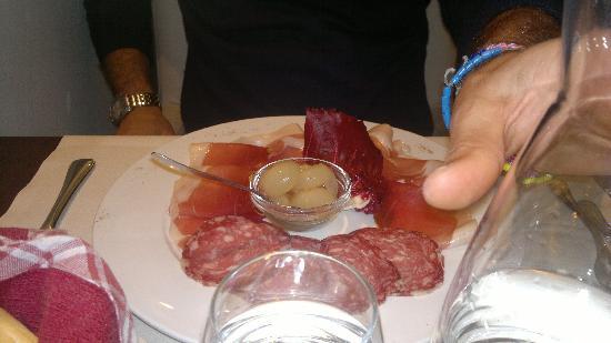 Ristorante Ca' d'Frara: antipasto salumi