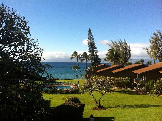 Polynesian Shores: The view from our balcony.