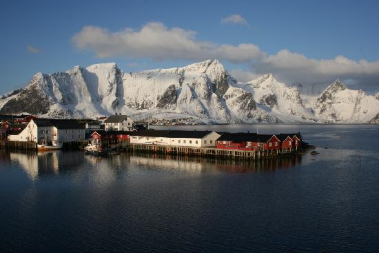 Eliassen Rorbuer in winter time