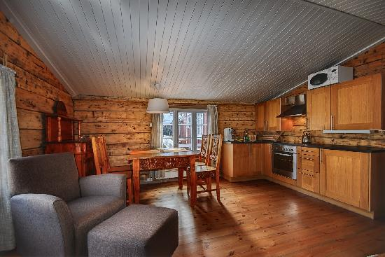 Eliassen Rorbuer: Example kitchen small cabin