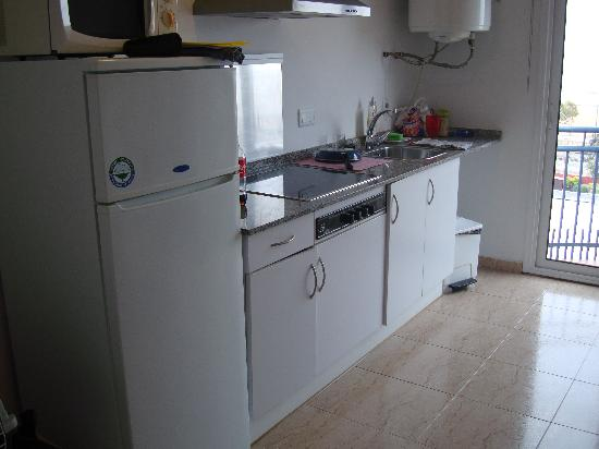 Aparthotel Iris: cocina