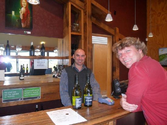 Te Awa Winery Restaurant & Cellar Door: Talking Chemistry