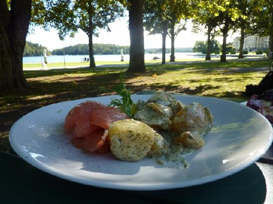Drottningholm Palace : lunch with a view!!