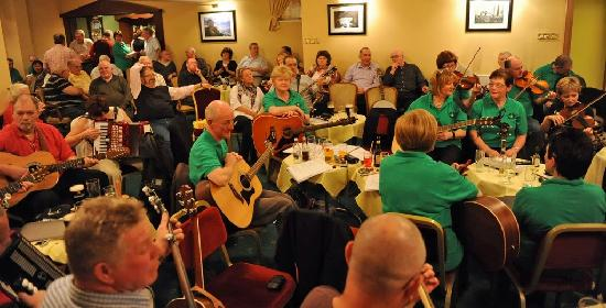 Adair Arms Hotel: more music going on