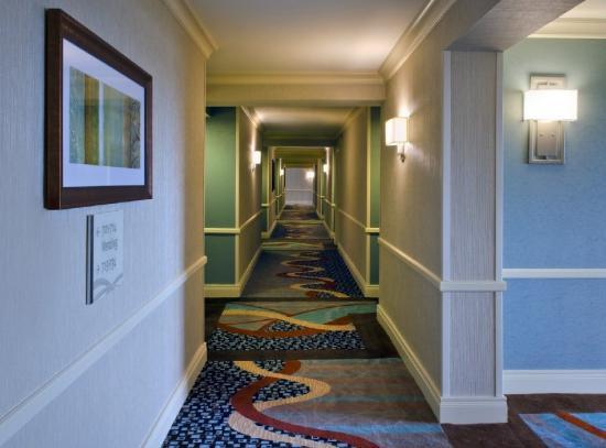 Jamaica, État de New York : Hotel Corridor
