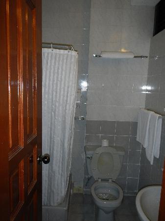 Washroom at Kam Hotel