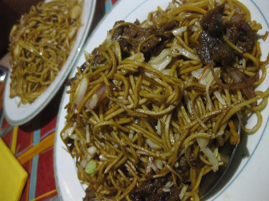 Little Wok: noodles
