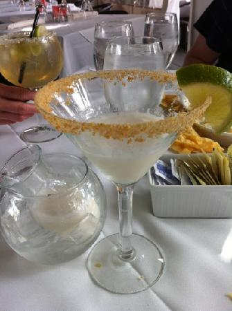 The Restaurant at La Te Da : key lime martini