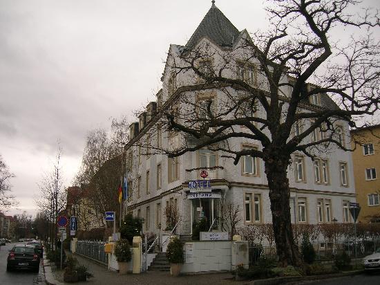 HOTEL SMETANA VU DE L'EXTERIEUR