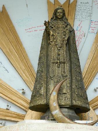 Imagen de la Virgen del Cisne