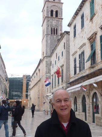 Cafe Festival exterior - Stradun Dubrovnik.,