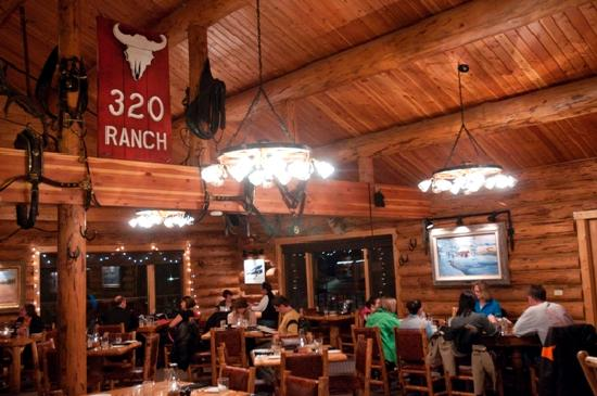 320 Guest Ranch Restaurant: Our Dining Room