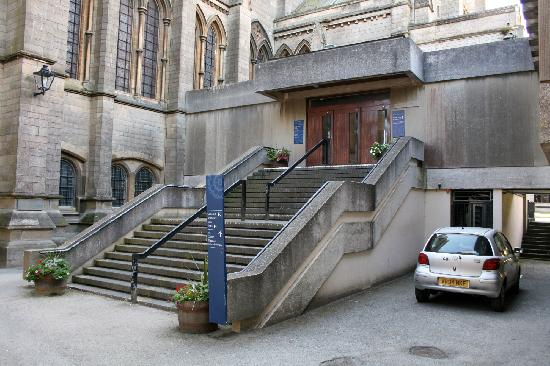 Truro, UK: Entrance to the community rooms and restaraunt