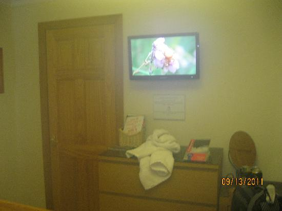 Tarven  B&B : To the left is the roomy closet!