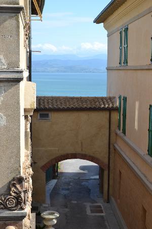 """Hotel  la Torre: Vista da """"camera con vista"""""""