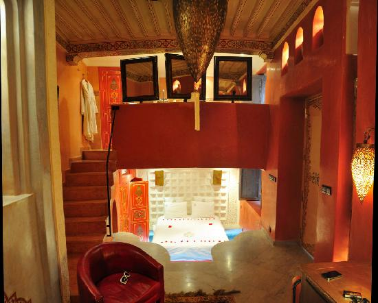 Riad Moullaoud: Our room