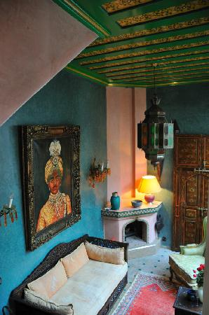 Riad Moullaoud: Hotel inside