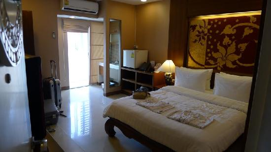 Mariya Boutique Residence at Suvarnabhumi Airport: chambre twin