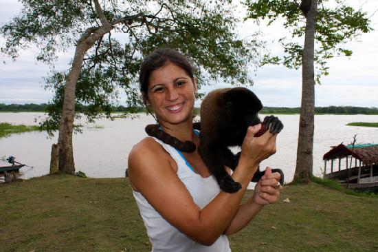 Amazon Reise Eco Lodge : Isla de los Monos