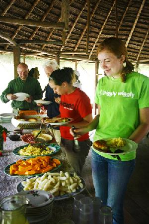 Amazon Reise Eco Lodge : Almuerzo Buffet