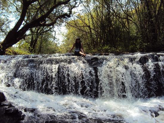 Obera, Argentina: 39.-Oberá-Tacuara Lodge: Cascaditas dentro del predio