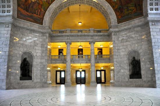 Utah State Capitol: Cap6