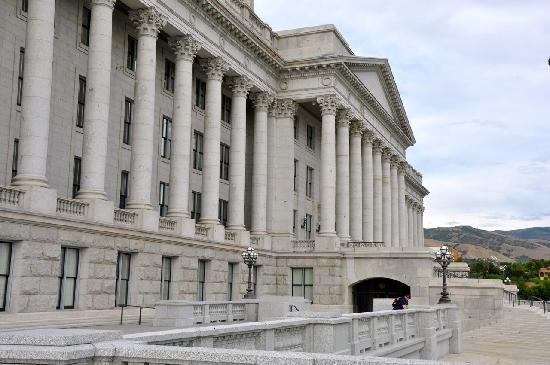 Utah State Capitol: Cap7