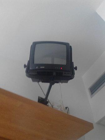El Prado: Televisore nella camera bunker