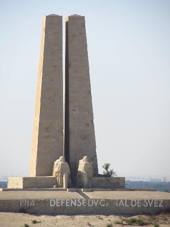 Suez Canal: Suez Defense Monument