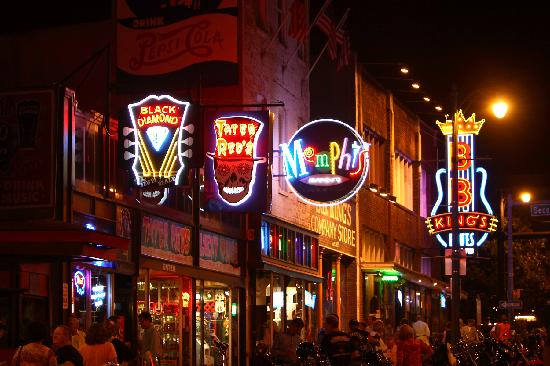 Tennessee: Beale St, Memphis, TN