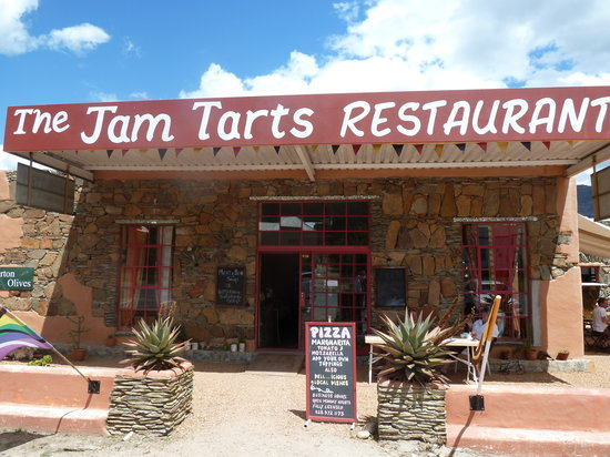 The Jam Tarts Barrydale: From Outside