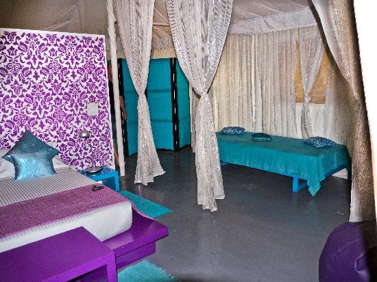 โรงแรมอมาร์ยา ชามิยานา: Our tent