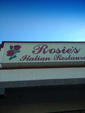 Rosie's Italian Cafe