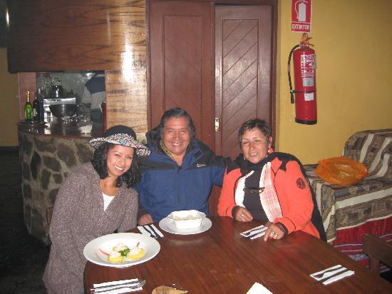 Hotel Kunturwassi Colca: Tuvimos el privilegio de compartir con los propios dueños del Hotel, son unas personas maravillo