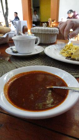 Hotel Casa Vértiz: Love the house salsa