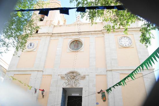 Petrer Castle: Iglesia de San Bartolome