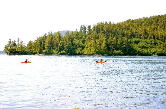 Sitka's Eagle Bay Inn: go kayaking
